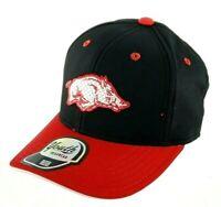 Outerstuff University Of Arkansas Razorbacks Black Snapback Youth Hat Cap New