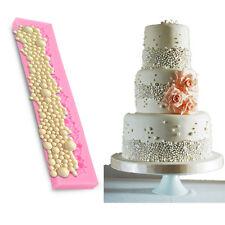DIY 3D Silikon Perlen Kuchen Fondant Form Kuchendekoration pearl Ausstechformen