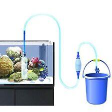 Siphon Gravel Tank Aquarium Water Change Pump Suction Pipe Filter Cleaner Tool Q