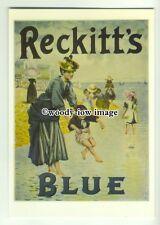 ad0398 - Reckitts Blue Laundry Whitener - Seaside Scene - Modern Advert Postcard