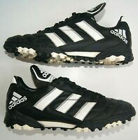 Sneakers Adidas Vintage 1997 Year Football Cleats Soccer Black Shoes Mens US 9.5