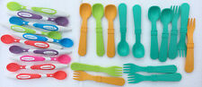24 Munchkin & Replay Spoons & Forks feeding baby toddler child