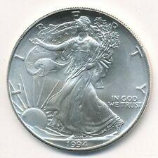 1994 AMERICAN SILVER EAGLE 1 OZ COIN EXACT SHOWN