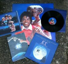 E.T. The Extra-Terrestrial Audiobook Vinyl narrated by Michael Jackson Very Rare