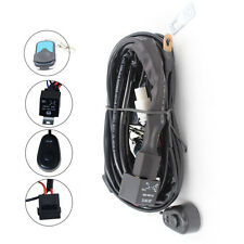 """12V Wiring Harness Kit Up to 4"""" 52""""inch Jeep LED Light Bar Remote Control Switch"""