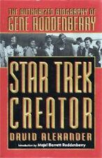Star Trek Creator:The Authorized Biography of Gene Roddenberry hc dj 1st