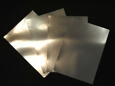 Silver Metallic Glossy Inkjet Printable Film Photo Paper 5 A3 Sheets 100 Micron