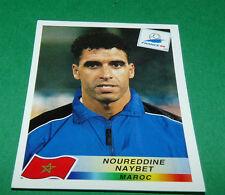 N°54 NAYBET MAROC MOROCCO PANINI FOOTBALL FRANCE 98 1998 COUPE MONDE WM