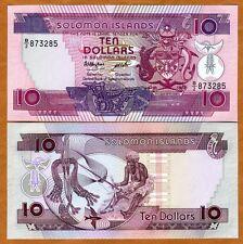 Solomon Islands, $10, ND (1986), P-15, B/2, UNC