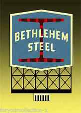Miller's Bethlehem Steel  Animated Neon Sign O/HO Miller Engineering