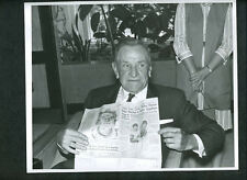 Casey Stengel The Sporting News 1964 Wire Photo Mets in Mexico City