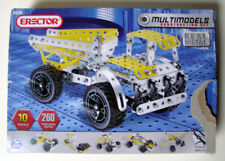 Erector #5560 Spin Master Multimodels Construction Set 10 Models 260 Parts