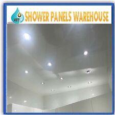10 White Gloss Bathroom Wall Panels  Shower Wet Wall Cladding Bathroom Panel