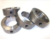 Steel shaft collars, with grub screw. Large sizes BS4185 1.1/8 inch - 4 inch.