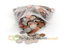 "500 Pieces Zipper Clear 2Mil Poly Bag Reclosable Plastic Bags 5"" x 8"""