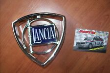FREGIO MASCHERINA STEMMA LOGO CROMATO LANCIA BETA FULVIA COUPE BERLINA BADGE