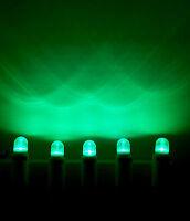 Set 5 x LED 0,6W E14 Klar Grün Farbig Lampe Kühlschrank Signal Günstig Angebot