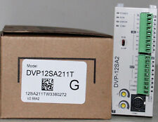 DVP12SA211T Delta SA2 Series Advanced PLC DI 8 DO 4 Transistor 24VDC new in box