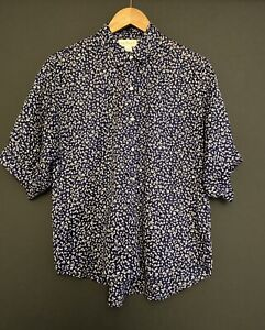 Velvet By Graham & Spencer Cotton Floral Women's Shirt