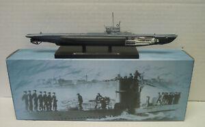 Finshed Model u Boat U-214 Type VII D, 1943, Atlas, 1:3 50, Metal, New