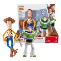 Neu Toy Story Woody & Buzz Lightyear Posable Figuren Disney Pixar Offiziell