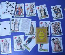 Jeu de 54 cartes à jouer Dames de France Neuf réédition 1816 Gustave Houbigant