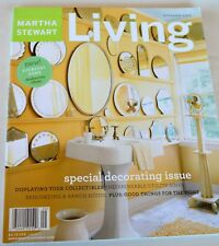 Martha Stewart Living Magazine Sept 2003 Decorating Issue Renovate a Ranch House