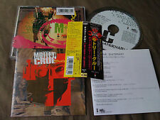 MOTLEY CRUE / quaternary / JAPAN LTD CD OBI 9 songs