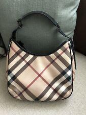 100% Authentic Burberry shoulder handbag. Excellent Condition