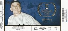 2014 NY YANKEES VS MARINERS JETER LAST YEAR SUITE TICKET STUB 5/1 CASEY STENGEL