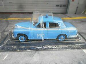 """Auto Modell Wolga Gaz M21 /""""Polizei/"""" /""""Милиция/"""" 1:43 Sammlung Oldtimer"""