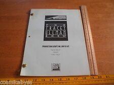 The Tracey Ullman Show 1988 ORIGINAL Script The Simpsons Dan Castellaneta #42