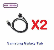 2 X Data Sync Charger Cable for Samsung Galaxy Tablet P5100 N8000 P739 M190S