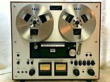 Akai Gx-230D Auto-Reverse Stereo Tape Deck Reel-To-Reel - See Video