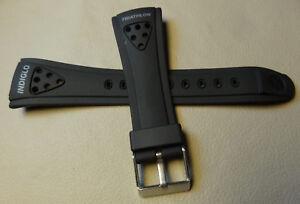 New Mens 16mm Timex Ironman Triathlon 8 Lap Indiglo 50m Watch Band T62951 62951