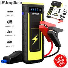 21000mAh 12V Car Jump Starter Booster 800A Peak Battery Charger USB Power Bank