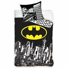 22a07b1617f Batman Gotham City Conjunto de Funda Nórdica Individual Reversible Ropa Cama