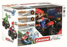 Nintendo Carrera Mario Kart RC Mario Driver Quad Car Brand New Sealed Free Post