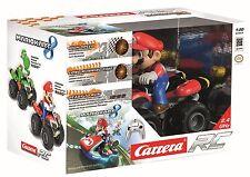 Nintendo Carrera Mario Kart RC Mario Driver Quad Car Brand New Sealed Free Post