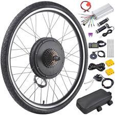 "750W 26"" Electric Bicycle Conversion Kit E-Bike Motor Rear Wheel PAS LCD Meter"