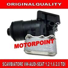 RADIATORE SCAMBIATORE DI CALORE ACQUA OLIO VOLKSWAGEN VW GOLF VI 1.6 2.0 TDI