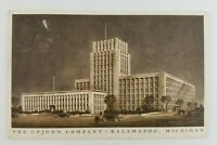 Postcard The Upjohn Company Kalamazoo Michigan 1937