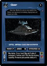 Accuser [Near Mint/Mint] DEATH STAR II star wars ccg swccg