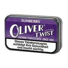 6 x Oliver Twist Sunberry / 6 Dosen à 7 Gramm Kautabak / Tabak