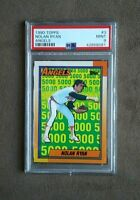 1990 Topps Baseball Nolan Ryan 5000 Card #3 PSA Graded 9 Mint