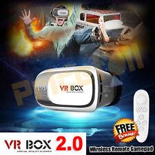 Cardboard VR BOX 2.0 Google Virtual Reality 3D Glasses Bluetooth Remote Gamepad