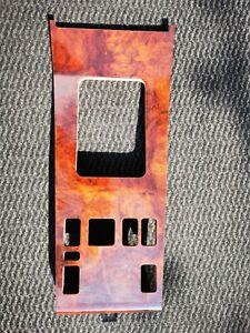 W124 Wurzelholz Mittelkonsole 4x eFh Fensterheber Überblendregler