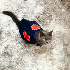 Anime Akatsuki Naruto Cosplay Mini Dog Puppy Cat Cloak Clothes Pet Costume Ninja