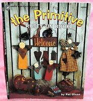 The Primitive Rusty Tin Tole Painting Pattern Book Pat Olson, Angel Welcome Sign