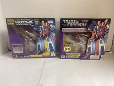Lot Commemorative Series Takara Japanese Transformers Reissues Starscream Sealed